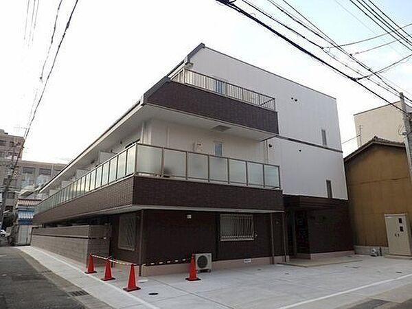 兵庫県神戸市中央区北長狭通8丁目の賃貸アパートの外観