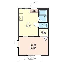 ファミ−ル・大泉[2階]の間取り