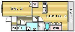 ファインスクエア[2階]の間取り