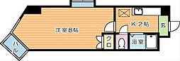 SPACEVILLAGE64(スペースヴィレッジ64)[7階]の間取り
