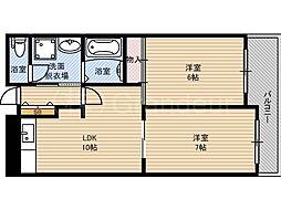 クレアコート[2階]の間取り