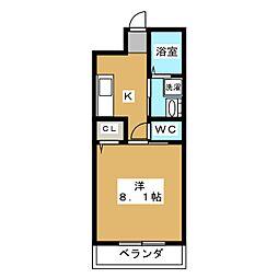 MESA VERDE 桂 A棟[2階]の間取り