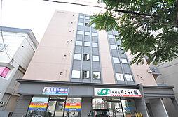 北海道札幌市北区北三十三条西3丁目の賃貸マンションの外観