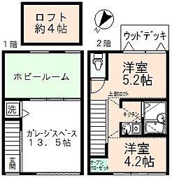 Naganuma Base[2号室]の間取り
