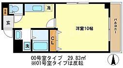 グリーンコート[3階]の間取り