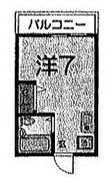 STM横須賀[402号室]の間取り