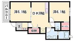 曽根駅 5.2万円