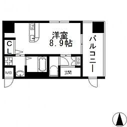 エクセルコート布施タワー[406号室号室]の間取り