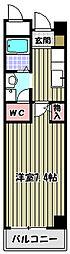 ブリリアントグリーン三国ヶ丘[3階]の間取り