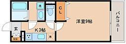 兵庫県神戸市長田区真野町の賃貸アパートの間取り