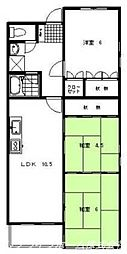青井ビル第二[3階]の間取り