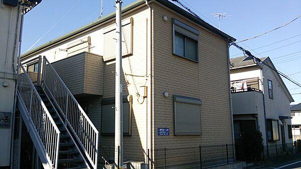 埼玉県蓮田市御前橋2丁目の賃貸アパートの外観
