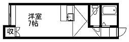 ノースシティ上木戸[2階]の間取り