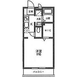 オモテ・ワタナベ[203号室号室]の間取り