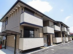 大阪府羽曳野市誉田3丁目の賃貸アパートの外観