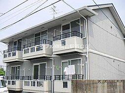 岡山県岡山市北区新屋敷町3の賃貸アパートの外観