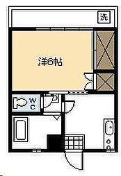 金剛ビル[407号室]の間取り