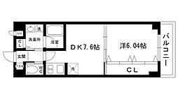 甲東園さくらいマンション[402号室]の間取り