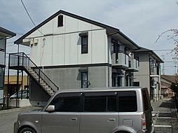 三重県鈴鹿市平田1丁目の賃貸アパートの外観