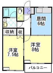 5番街[1階]の間取り