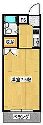 アベニュー35[2階]の間取り