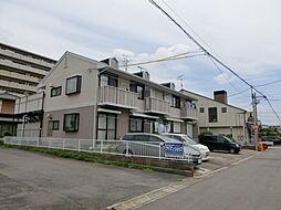 愛知県北名古屋市沖村沖浦の賃貸アパートの外観