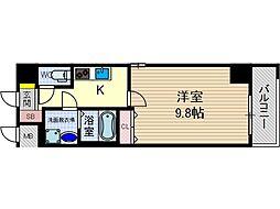 カミオン別院[5階]の間取り