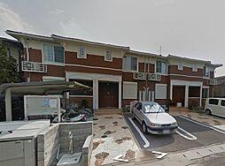 大阪府柏原市法善寺3丁目の賃貸アパートの外観
