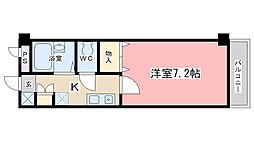 フォレスト醍醐[117号室]の間取り