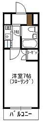 瀬川ビル[506号室]の間取り