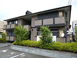 東京都日野市万願寺6丁目の賃貸アパートの外観