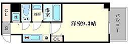 ラドゥセール心斎橋[10階]の間取り