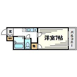 リッチライフX[2階]の間取り