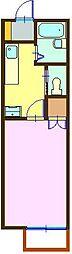 ルミナス祇園III[106号室]の間取り
