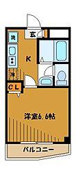 エクセレントTR[2階]の間取り