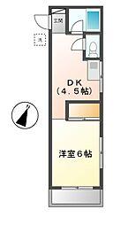 メゾン樹[2階]の間取り