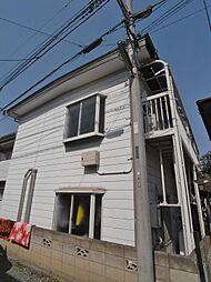 埼玉県ふじみ野市西1丁目の賃貸アパートの外観