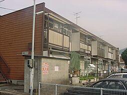 京都府京都市山科区椥辻池尻町の賃貸アパートの外観