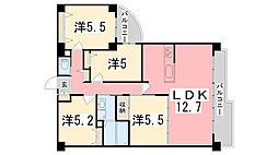 エンブレイス姫路下寺町[12階]の間取り
