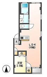 仮)グランレーヴ東別院EAST[1階]の間取り