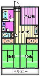 第1渡辺レジデンス[4階]の間取り
