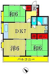 ハウス938[1階]の間取り