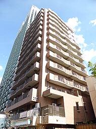 東京都港区高輪1丁目の賃貸マンションの外観