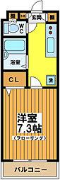 東京都世田谷区松原4丁目の賃貸マンションの間取り