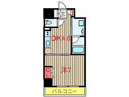 千葉県八千代市ゆりのき台4の賃貸マンションの間取り
