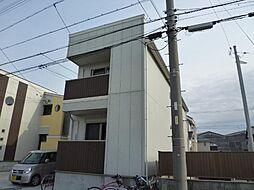 愛知県名古屋市中川区広川町2丁目の賃貸アパートの外観
