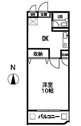 M Part 1[3階]の間取り