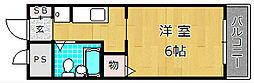 カーサカトレア[2階]の間取り