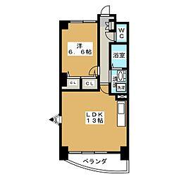 la campanella[5階]の間取り
