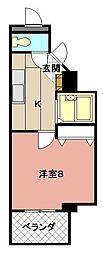 パークシャトー[6階]の間取り